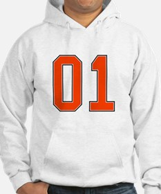 01 General Lee Dukes of Hazzard Car number Hoodie