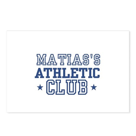 Matias Postcards (Package of 8)