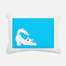 Cute Ragdoll Cat - White with Blue Eyes Rectangula