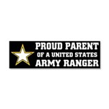 "Proud army ranger mom 3"" x 10"""