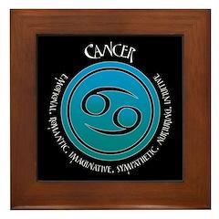 Cancer Framed Tile