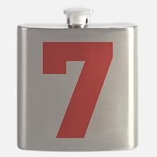 lucky seven Flask