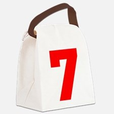 lucky seven Canvas Lunch Bag