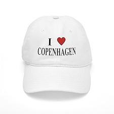 I Love Copenhagen Baseball Cap