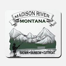 Madison River Fishing Mousepad