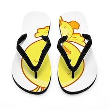 Baby Yellow Bird Flip Flops