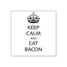 Keep Calm Eat Bacon Sticker