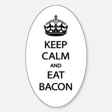 Keep Calm Eat Bacon Decal