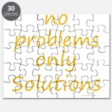 no problems only solutions Puzzle