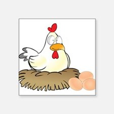 Chicken and Eggs Sticker