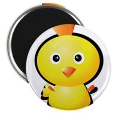 """Cartoon Baby Chick-2 2.25"""" Magnet (10 pack)"""