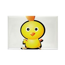 Cartoon Baby Chick-2 Rectangle Magnet