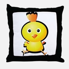 Cartoon Baby Chick-2 Throw Pillow