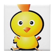 Cartoon Baby Chick-2 Tile Coaster