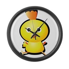 Cartoon Baby Chick-2 Large Wall Clock