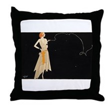 Where there's smoke there's fire Throw Pillow