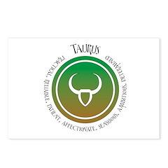 Taurus Postcards (Package of 8)