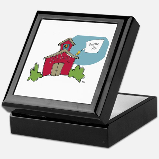 Teachers Care Keepsake Box