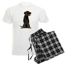 Cute Black Labrador Dog Pajamas