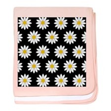 'Daisies' baby blanket