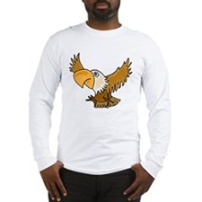 Funky Eagle Art Long Sleeve T-Shirt