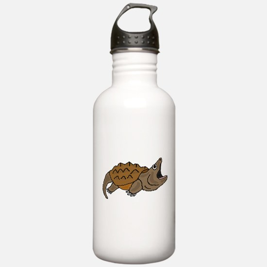 Funky Snapping Turtle Water Bottle