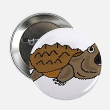 "Funky Snapping Turtle 2.25"" Button"