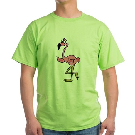 Pink Flamingo Art T-Shirt