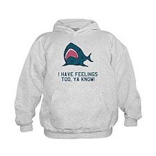 Great white shark feelings Hoodie