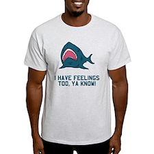 Great white shark feelings T-Shirt