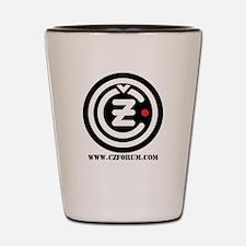 CZ Forum Shot Glass