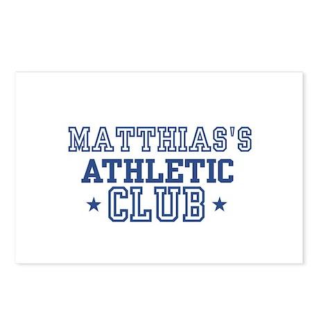 Matthias Postcards (Package of 8)