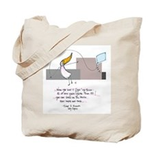 Up Where the Air is Clear Tote Bag