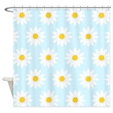 'Daisies' Shower Curtain