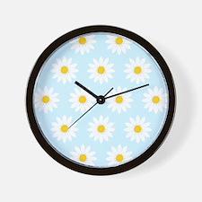 'Daisies' Wall Clock