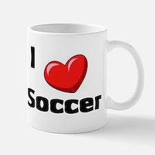 Soccer Playing Bulldog Mug