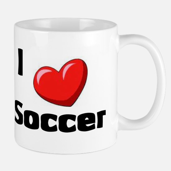 Soccer Playing Bulldog Mug