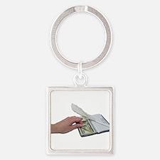 Money Checkboo Keychains