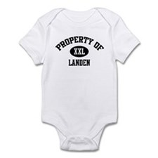 Property of Landen Infant Bodysuit