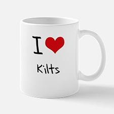 I Love Kilts Mug