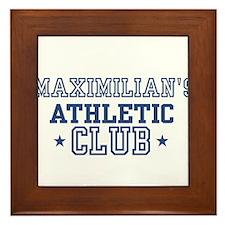 Maximilian Framed Tile