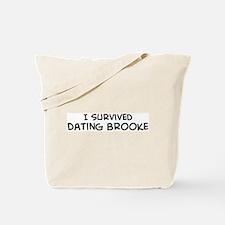 Survived Dating Brooke Tote Bag