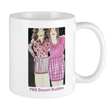 pms bosombuddies mug