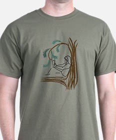 Girl in a Tree Reading T-Shirt