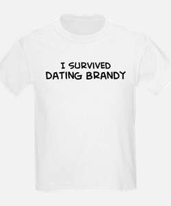 Survived Dating Brandy Kids T-Shirt