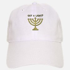 """Got A Light"" Menorah Baseball Baseball Cap"