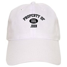 Property of John Baseball Cap