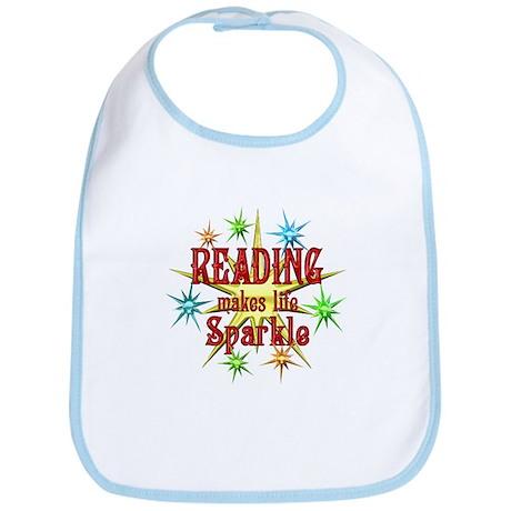 Reading Sparkles Bib