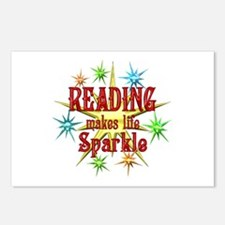 Reading Sparkles Postcards (Package of 8)