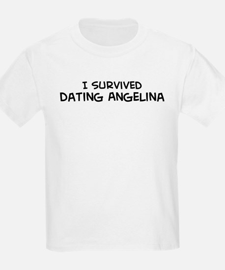 Survived Dating Angelina Kids T-Shirt